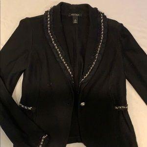 White House Black Market wool blazer jacket sz M